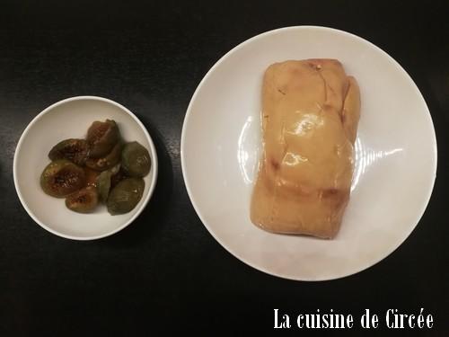 foie gras et figues