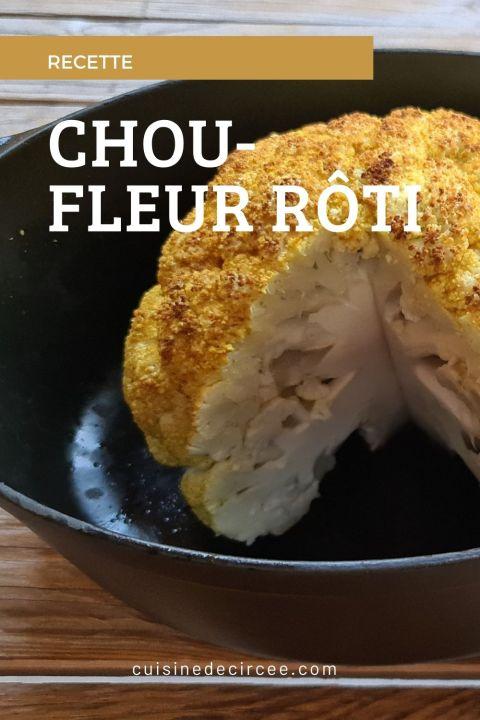chou-fleur rôti