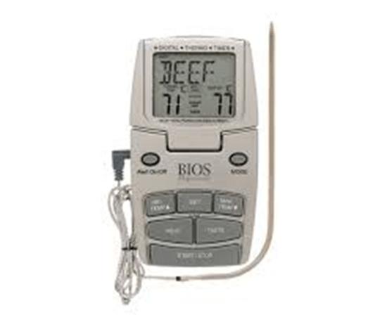 thermometre a viande avec sonde bios