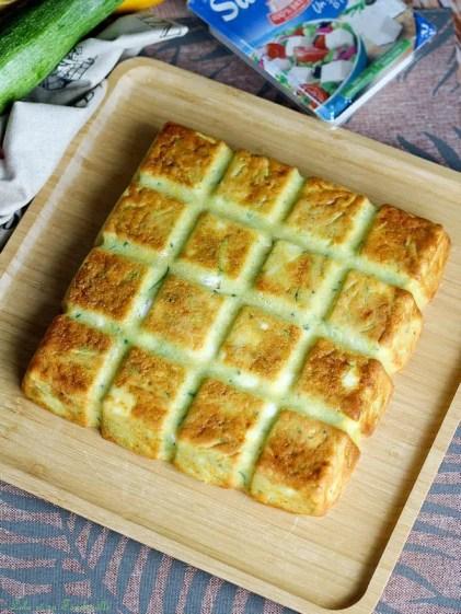 Cake courgettes & feta (2)