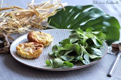 Clafoutis aux tomates séchées & lardons (2)