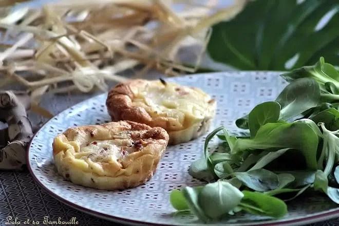 clafoutis tomates séchées parmesan