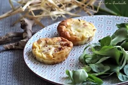 Clafoutis aux tomates séchées & lardons (4)