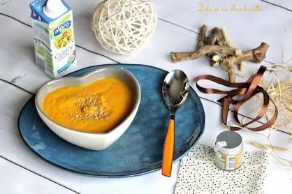 Velouté de carottes & lait de coco (6)