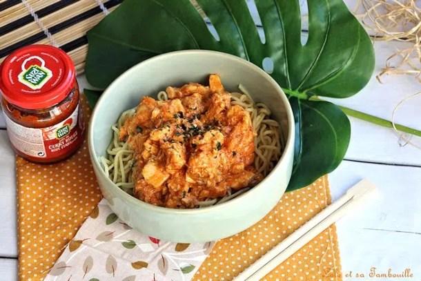 Curry de saumon épicé