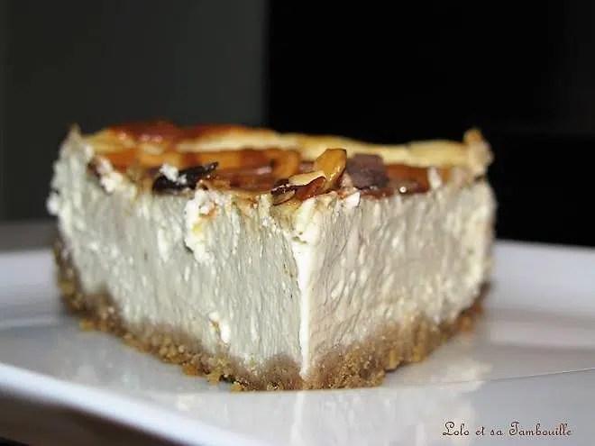 Cheesecake crémeux à la vanille