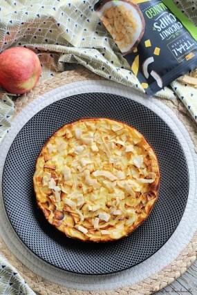 Clafoutis de fromage lanc aux pommes & poires (3)
