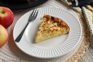 Clafoutis de fromage lanc aux pommes & poires (4)