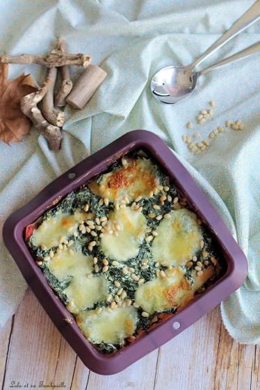 Lasagnes aux épinards (3)