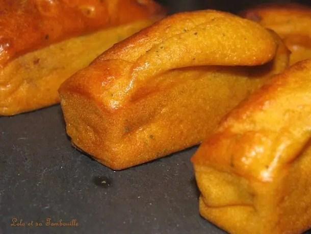 Mini cakes moelleux au chorizo & petit billy