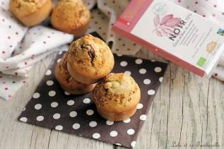 Muffins miel & noisettes, coeur chocolat (2)