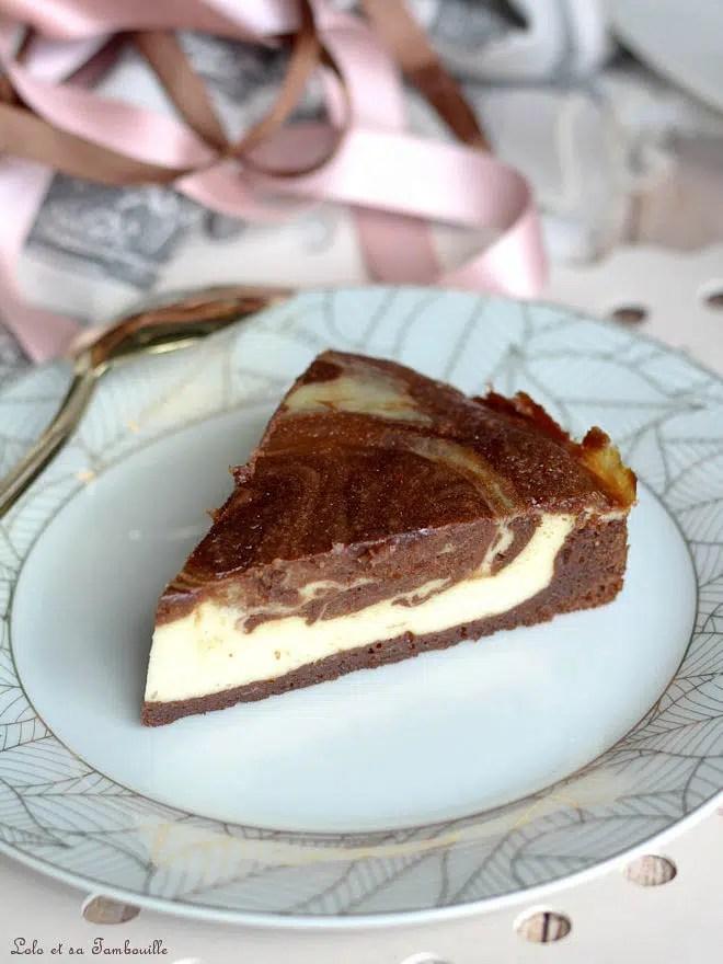 brownie cheesecake, dessert américain