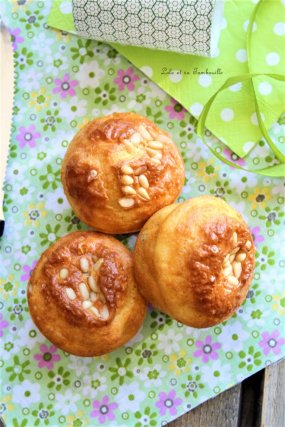 Muffins petits pois