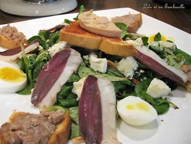 Salade du Sud-Ouest ou Gersoise