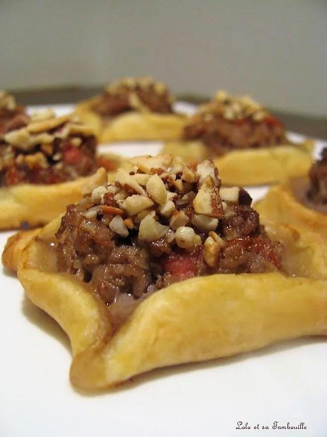 Sfihas Petites pizzas Libanaises
