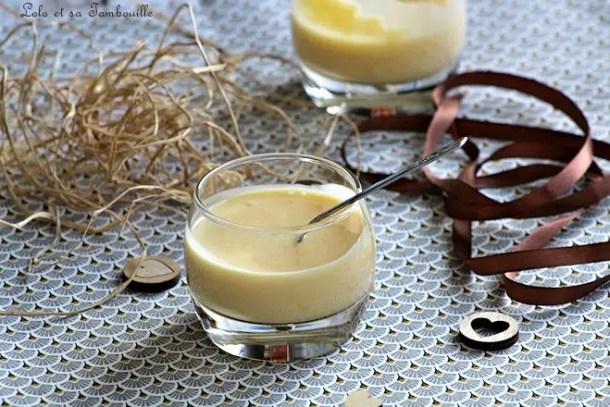 Crème anglaise allégée