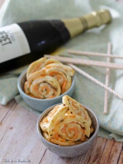 Roulés au saumon & fromage frais (3)