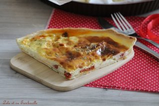 Tarte au petit billy tomates séchées & chorizo (1)