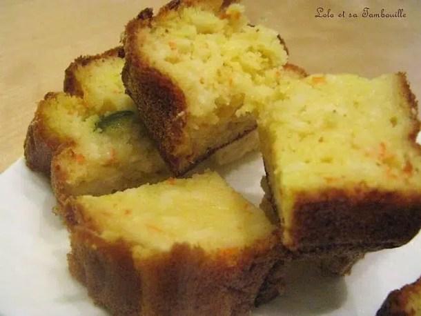 Cake au surimi & piccallili