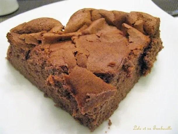 Fondant au chocolat & Nutella