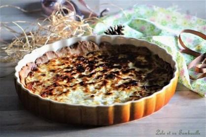 Tarte aux poireaux & fromage blanc (6)
