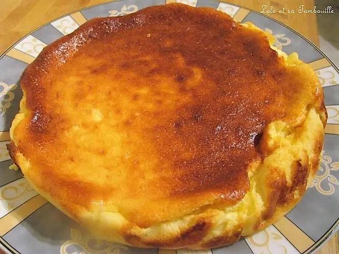 Gâteau léger au fromage blanc