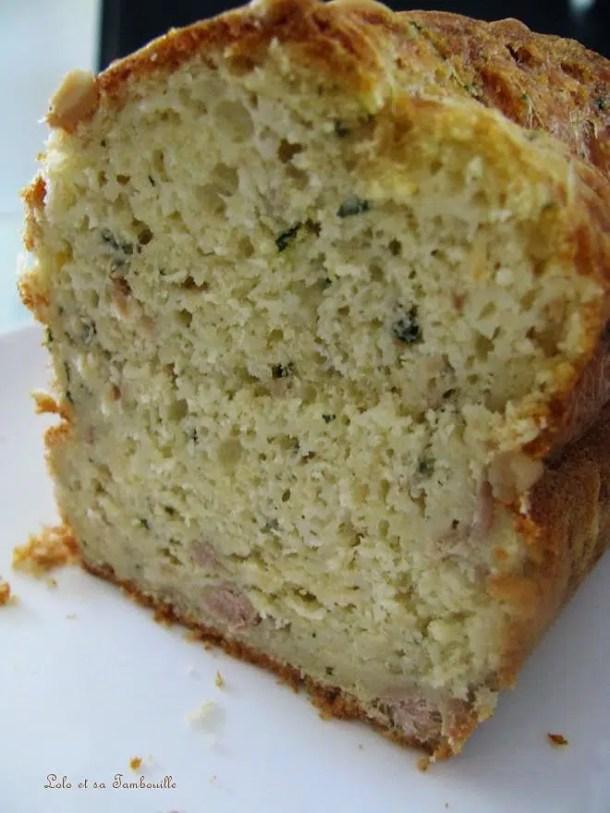 Cake au thon & à la ciboulette