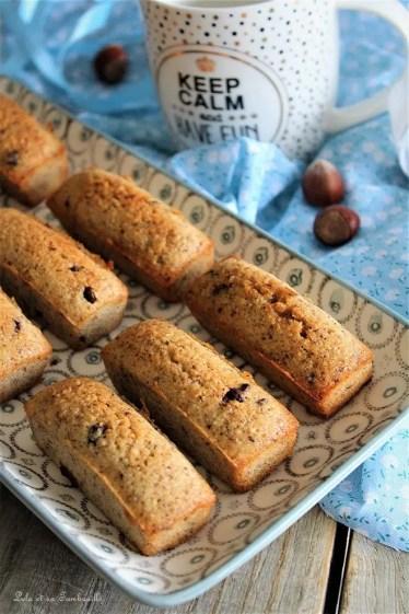 Financiers noisettes & pépites de chocolat (2)