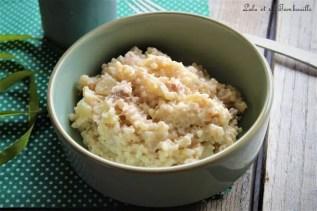 Risotto au thon & crème de parmesan (2)