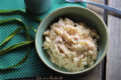 Risotto au thon & crème de parmesan (5)