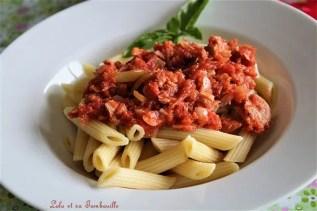 Sauce tomates au thon (5)
