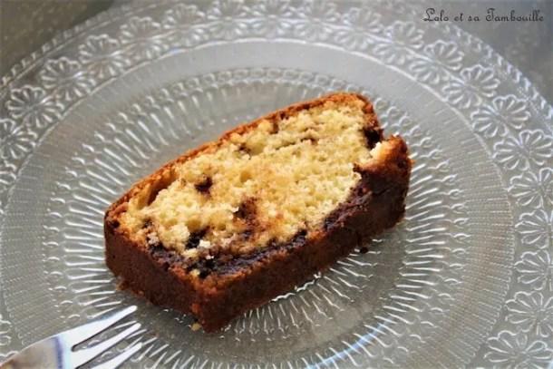 Cake au yaourt & Nutella