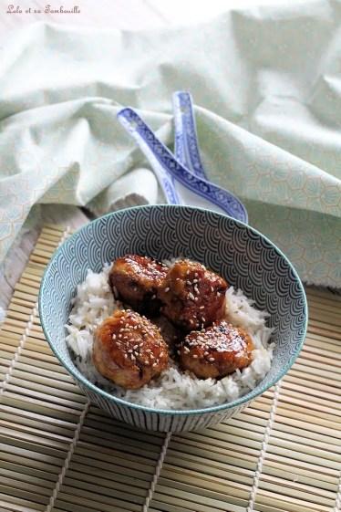 Boulettes de poulet à l'asiatique (4)