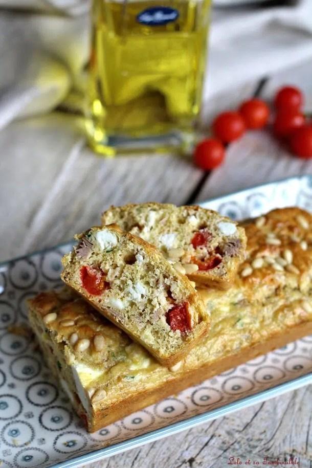 Pain de thon à la grecque