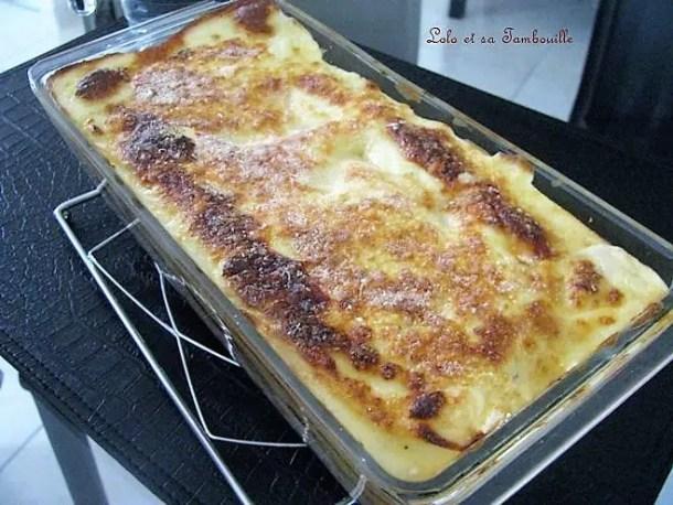 Lasagnes de poulet à la ricotta, parmesan & noix