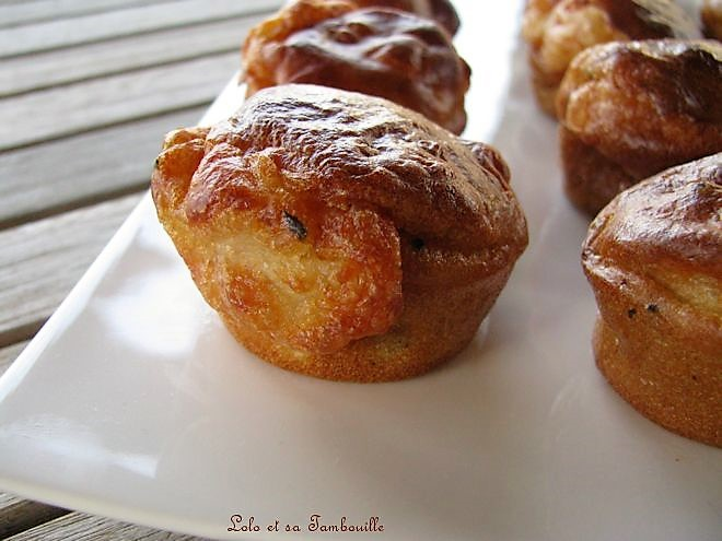 Muffins aux lardons