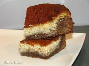 Brownies marbré au praliné et mascarpone (5)