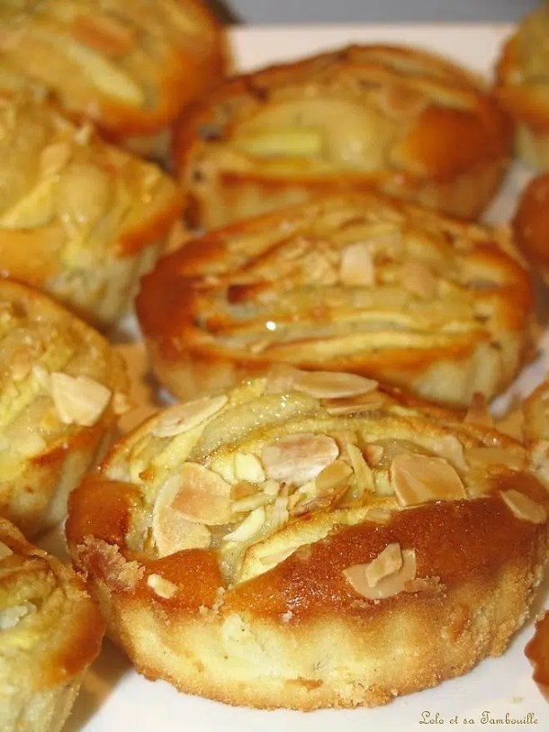 Tartelettes amandines aux pommes & épices