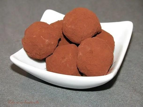 Truffes au chocolat et beurre salé
