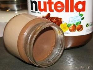 Yaourts au nutella