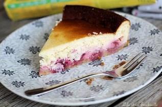 Gâteau au fromage blanc & framboises (1)