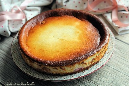 Gâteau au fromage blanc & framboises (2)