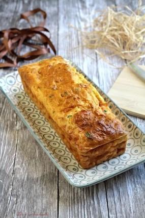 Cake aux carottes & lardons (2)