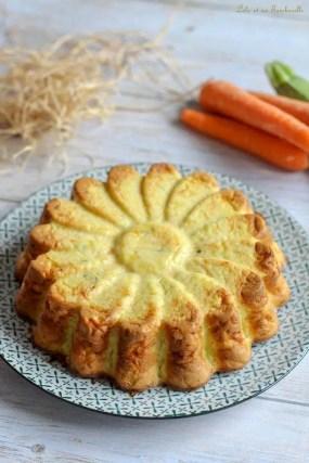 Quiche sans pâte aux carottes & courgette (4)