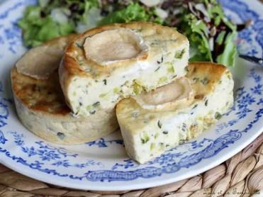 Quichettes sans pâte courgettes & chèvre (1)