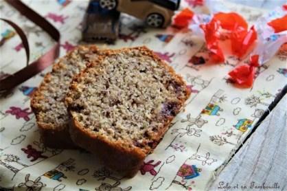 Cake aux schokobons (1)
