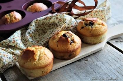 Muffins aux pépites de chocolat (2)