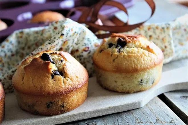 Muffins aux pépites de chocolat {de Cyril Lignac}