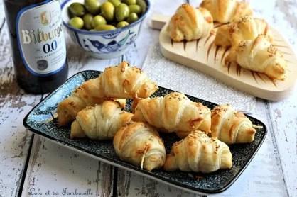 Croissants feuilletés aux lardons (7)