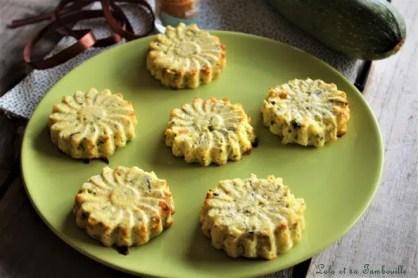 Flans de courgettes & curry (2)